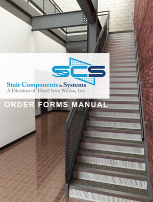 Eberl Stair Components and Systems Order Forms Manual